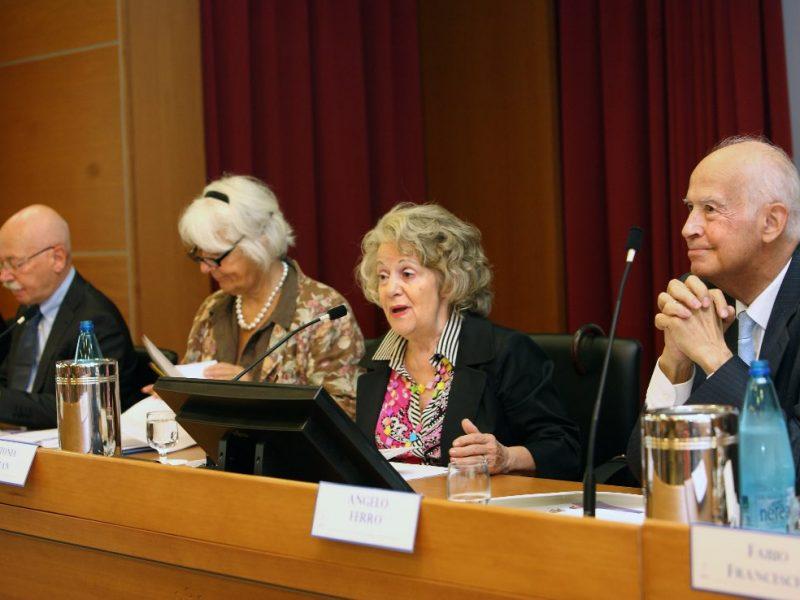 il palco dell'Auditorium durante il Premio Letterario Civitas Vitae