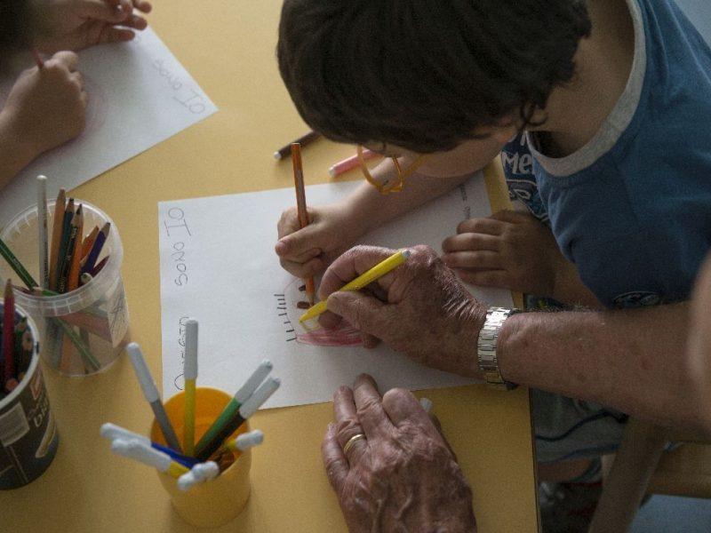 attivita' intergenerazionale con i Nonni del Cuore