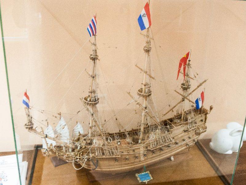modello di galeone francese