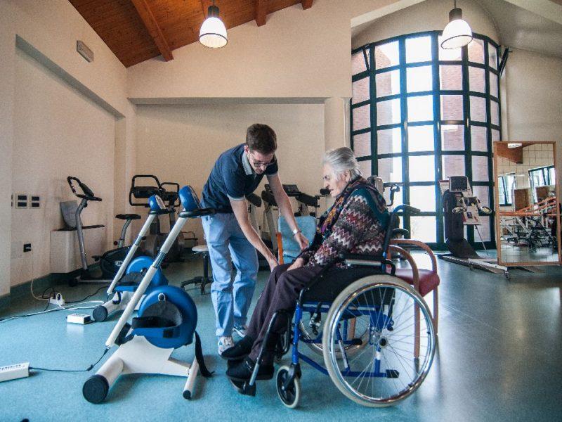 attivita' di riabilitazione in palestra