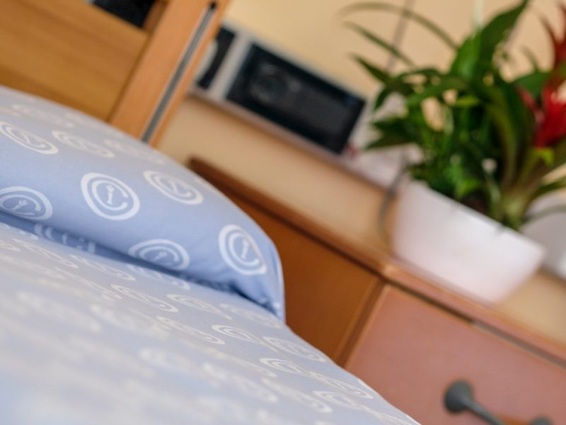 particolare di un letto