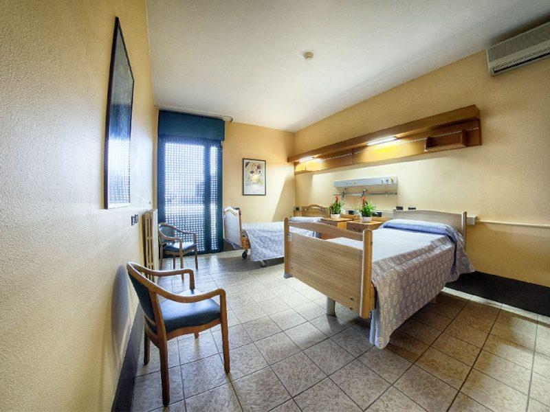 stanza doppia hospice e SVP