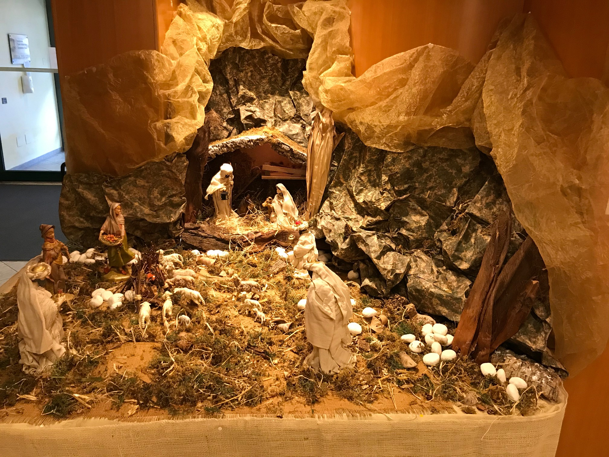 Il presepe della Residenza Pio XII