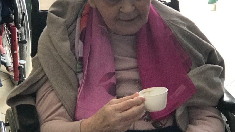 Un ospite del nculeo D: la signora Maria