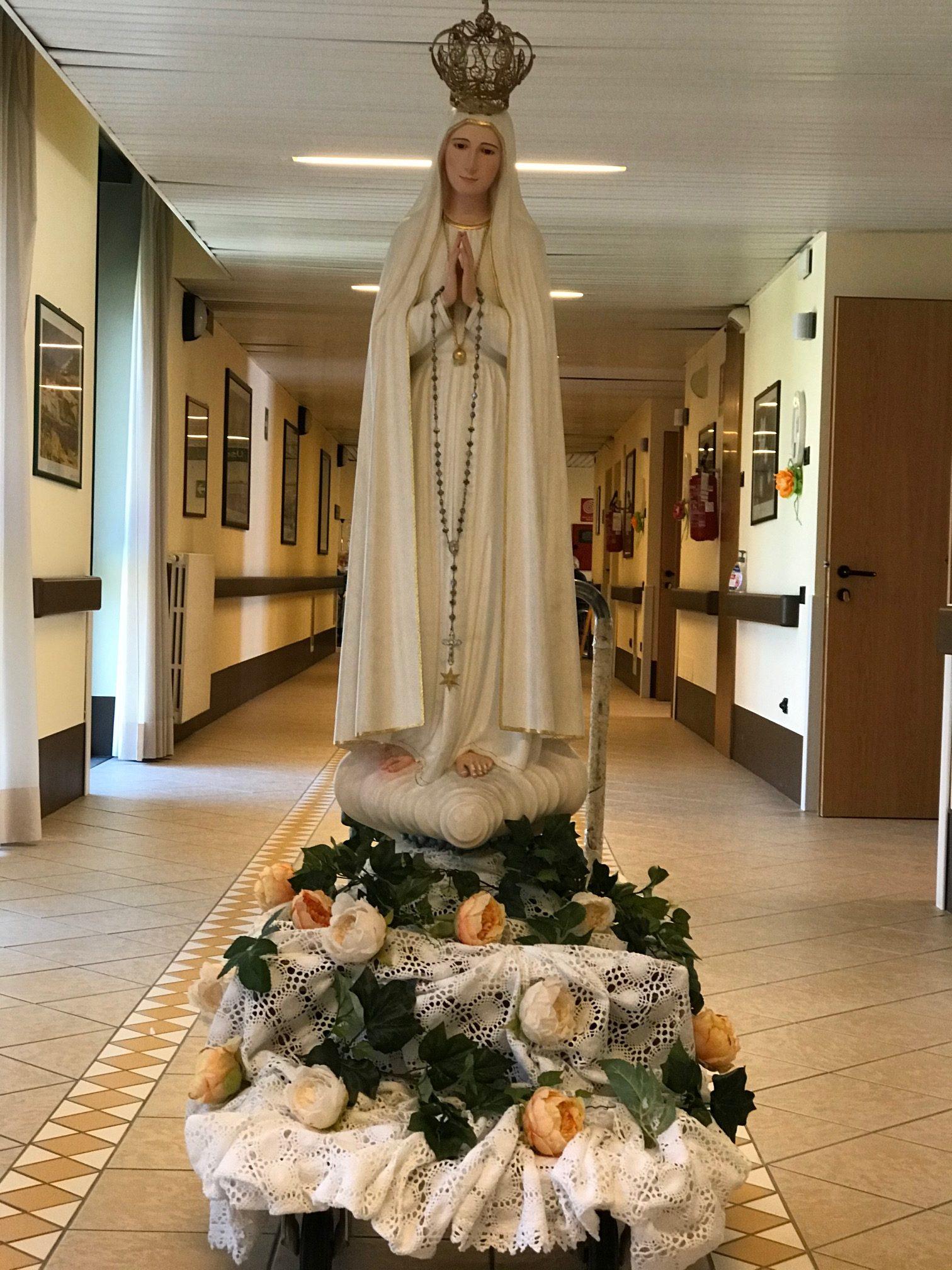 La Statuetta della Madonna di Fatima